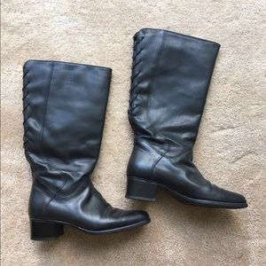Blondo waterproof black leather boots